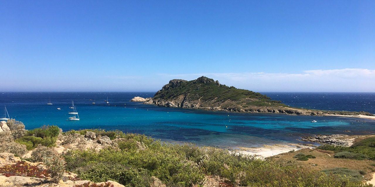 South Of France Côte D ' Azur Cap Taillat Peninsula